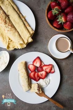 Coconut Crepes {Gluten Free & Dairy Free} | Food for My Family | Bloglovin'