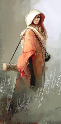 [ female, wizard, sorcerer, cleric ]