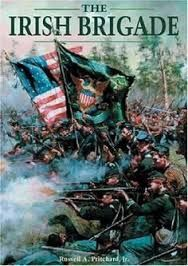 The Irish Brigade of the Civil War, later known as the 69th New York Regiment, the Fighting Irish.