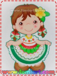 Niña Vestida De China Poblana en foamy Mexican Costume, Mexican Party, Foam Crafts, Diy And Crafts, Crafts For Kids, Mexican Babies, Paper Dolls Book, Color Meanings, Mexican Folk Art