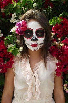Maquillaje De Catrina Niña, Maquillaje 3, Catrina 2, Escuela También, Dama De, La Muerte, De Muertos, Calavera, Debo Intentar