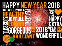 Wir wünschen Euch jetzt schon mal einen guten Rutsch ins neue Jahr 2018. Auf ein glückliches, erfolgreiches, gesundes und friedliches neues Jahr 😜  Feiert mit uns am 31.12.2017 im #bagelshop Silvester!!  www.bagelshop.de