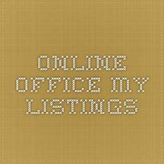 Online Office - My Listings
