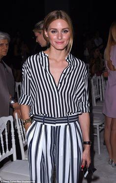 Olivia Palermo - Giambattista Valli Fall 2015 Haute Couture Front Row - July 6, 2015 #FROW