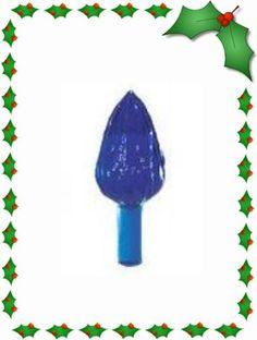 Ceramic Christmas Tree Lights - Twist Lights Medium Royal Blue (25) -- See this great product @…