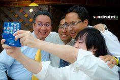 Selfie con los amigos. Selfie with the friends.  #sonriephoto #boda #weeding #legado #legacy