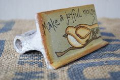 Hand Painted Trowel by Ramshackles on Etsy