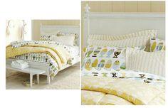 Swedish Luxe Bed available @ CoachBarn.com has a low footboard. #coachbarn #furniture #design