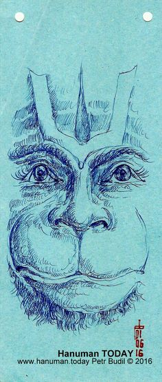 Daily drawings of Hanuman / Hanuman TODAY / Connecting with Hanuman through art / Artwork by Petr Budil [Pritam] www. Hanuman Jayanthi, Hanuman Tattoo, Hanuman Photos, Hanuman Images, Jay Shri Ram, Lord Hanuman Wallpapers, Basic Drawing, Air Brush Painting, Krishna Art