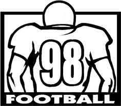 Football coloring page! Check out this big offensive lineman! Football Coloring Pages, Penguin Coloring Pages, Flag Coloring Pages, Cat Coloring Page, Printable Coloring Pages, Adult Coloring Pages, Football Jerseys, Football Rooms, Flag Colors