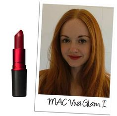 MAC Viva Glam I-best color for red lips!  Great for every skin tone :)