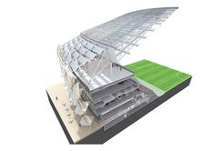 Gallery - Hazza Bin Zayed Stadium / Pattern Design - 18