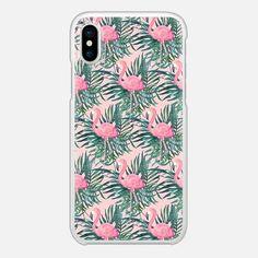 Pink Flamingo Palm Print Funny Phone Cases, Phone Covers, Iphone Cases, Phone Accesories, Tech Accessories, Cellphone Case, Iphone Design, Palm Print, Boho Diy