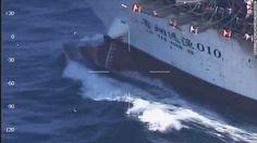 Guarda Costeira Argentina afunda barco pesqueiro chinês, por pesca ilegal