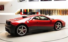 Ferrari's one-off SP12 EC built specially for the legendary Eric Clapton.