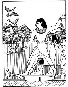 Ancient Egypt 17 - Coloring Pages Ancient Egypt For Kids, Ancient Egyptian Art, Ancient History, School Coloring Pages, Adult Coloring Pages, Coloring Books, History Of Wine, Art History, Egyptian Crafts