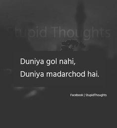 Jaisay tu hai ashi hole Kurla k chamar kapadiya ka sabse bada haram zada kamina neech MC bc besharam gaali khanay par bhi chutiya k chutiya hi hai. Bad Words Quotes, Stupid Quotes, Funny Quotes In Hindi, Desi Quotes, Funny Attitude Quotes, Crazy Quotes, True Love Quotes, Sarcastic Quotes, Shayari Funny