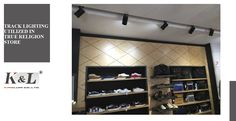 In order to match modern and high-quality ambiance of a True Religion boutique store in Crabtree Valley Mall, Kinglumi track lighting was utilized to illuminate clothing displays with appealing aromas, helping customers see the products with ease. Accent lighting of such kind not only emphasizes your best displays in the store but also leaving a lasting impression on shoppers.