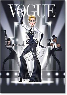 madonna cartoon | madonna blond ambition tour by nicotronick cartoons comics digital ... | Strike Pose Madge Mdna Madonna Vogue Funny Image Birthday Greeting ...
