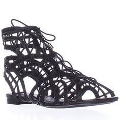 Joie Womens Renee Flat Sandals Black 37 EU 7 BM US Women *** You can get more details by clicking on the image.