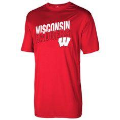 Wisconsin Badgers Big & Tall Shot Clock T-Shirt - Cardinal - $26.99