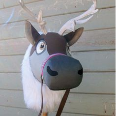 Frozen holiday gifts for kids: sven reindeer hobby horse