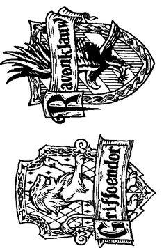 kleurplaat zweinstein pottermania harry potter