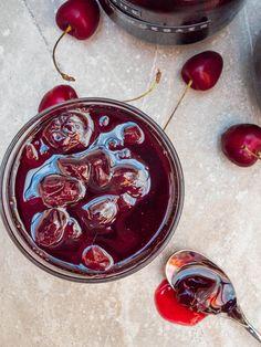 Turkish sour cherry jam (Vişne reçeli) - recipe / A kitchen in Istanbul