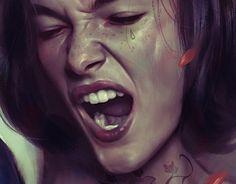 Raging women art ( own your emotions