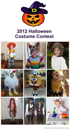 2012 Halloween Costume Contest, homemade costumes for kids