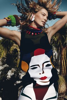 Daria Werbowy - March 2014 - Mario Testino. British Vogue