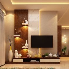 visit our website for the latest home decor trends . Living Room Partition Design, Living Room Tv Unit Designs, Ceiling Design Living Room, Home Room Design, House Design, Tv Unit Interior Design, Tv Unit Furniture Design, Bedroom Furniture Design, Home Interior