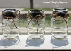 Πως θα μετατρέψεις ένα άδειο βάζο σε ηλιακό φαναράκι μπαλκονιού και κήπου! | Toftiaxa.gr - Φτιάξτο μόνος σου - Κατασκευές DIY - Do it yourself