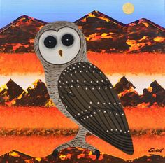 petercoadart.com.au Owl, Bird, Animals, Animaux, Owls, Birds, Animal, Animales, Animais