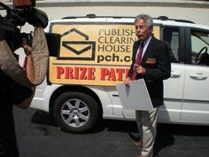 PRESS ROOM: INTERVIEW WITH DAVE SAYER, EXECUTIVE DIRECTOR, PRIZE PATROL, PUBLISHERS CLEARING HOUSE COMING SOON!