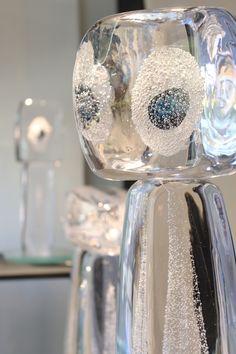 Björn Weckström: Stonehenge II glass art exhibition at Galleria Mafka&Alakoski autumn 2016. / Björn Weckströmin taidelasinäyttely Stonehenge II Galleria Mafka&Alakoskessa syksyllä 2016.