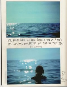 i have already pinned this quote but there is just something so lovely about these photos