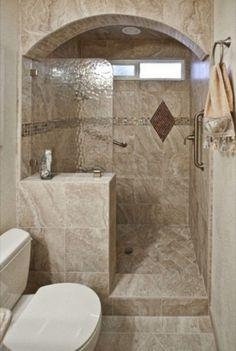 Attic Bathroom Walk In Showers For Small Bathrooms