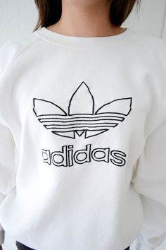 Adidas White Jumper www.pho-london.com