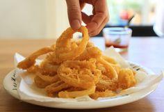 ARITOS DE CEBOLLA (Des onion rings faciles à préparer et délicieux) #RecetasFaciles #FastFood