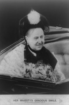 """""""Her Majesty's gracious smile"""" - A rare photograph of a smiling Queen Victoria, 1890s - [867x1319]"""