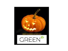 Enjoy Halloween & play golf GREEN g te desea un Feliz Halloween?