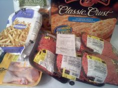 Winn-Dixie 9/27/12 - $17.95 OOP! 1 family pack of Ground Beef, 4 smaller packs of Ground Beef, 1 family pack of chicken legs, 1 Red Baron Pizza & 1 Alexia Fries & 1 Alexia Onion Rings!