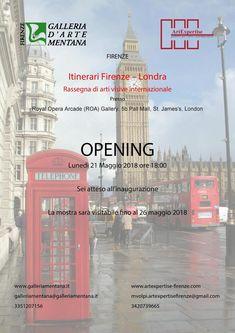 Anche l'artista Luigi De Giovanni è presente in mostra a Londra nella Royal Opera Arcade Gallery