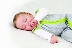 Baby Deedee Sleep Nest Lite Baby Sleeping Bag, Heather Gray Lime, Medium (6-18 Months) - $29.74