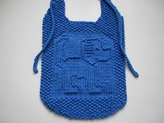 Baby Knitting Patterns Dishcloth Down Cloverlaine: Tail A Wagging! Knitting Patterns Free Dog, Baby Bibs Patterns, Kids Patterns, Crochet Patterns, Knit Vest Pattern, Bib Pattern, Baby Bib Tutorial, Crochet Baby Bibs, Knitted Baby Clothes
