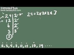 Descomposición de un número en sus factores primos