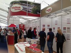 Whilton and Venetian Marinas stand at Crick Boat Show 2016