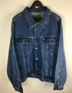 Lee Jean Jacket Men's Size (XXL) Stone Wash | Clothing, Shoes & Accessories, Men's Clothing, Coats & Jackets | eBay!