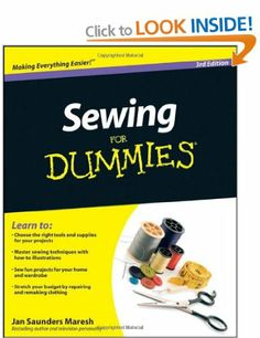 Sewing For Dummies: Amazon.co.uk: Jan Saunders Maresh: Books